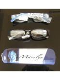 Lunettes de vue loupes, Marilyn Monroe, bleu