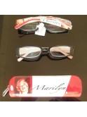 Lunettes de vue loupes, Marilyn Monroe, rouge