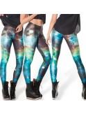 Legging cosmic galaxy 8732, tons vert