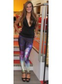 Legging cosmic galaxy 8701, tons violet
