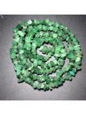 Colliers chips, pierres précieuses, pierres naturelles, gemmes, cristal de roche, aventurine